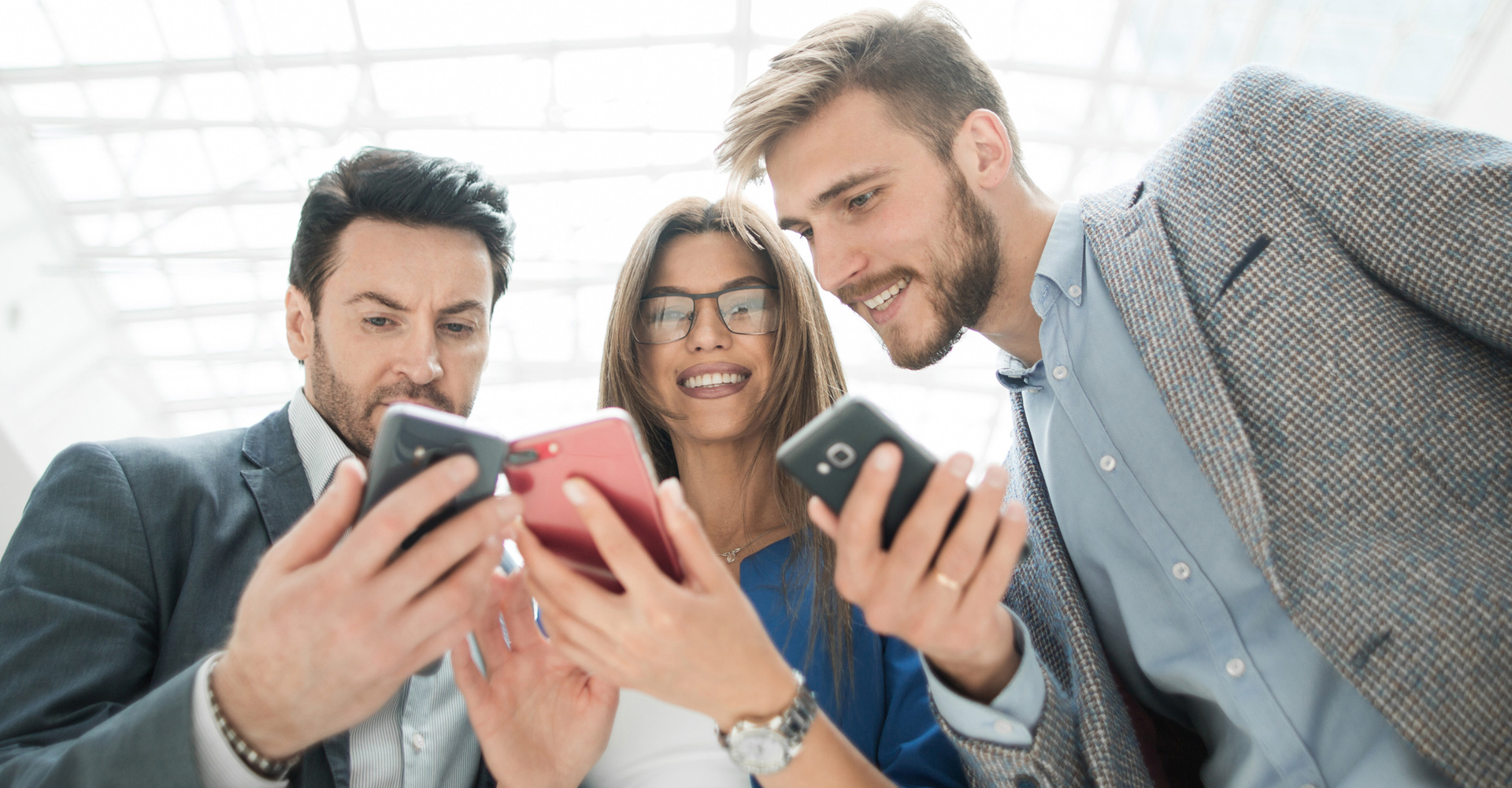 Business Networking Kontakte austauschen