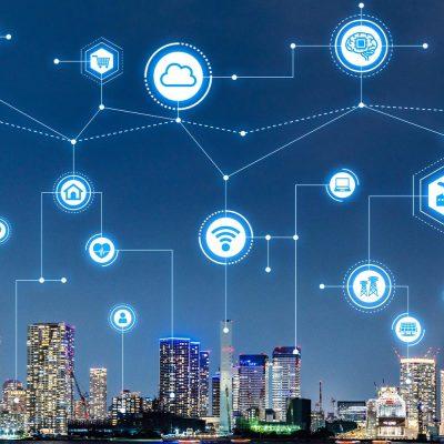 Vodafone präsentiert Innovationen für Smart Cities auf der E-World 2019.