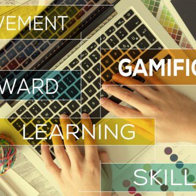 Gamification-Schlagworte in einer grafischen Darstellung