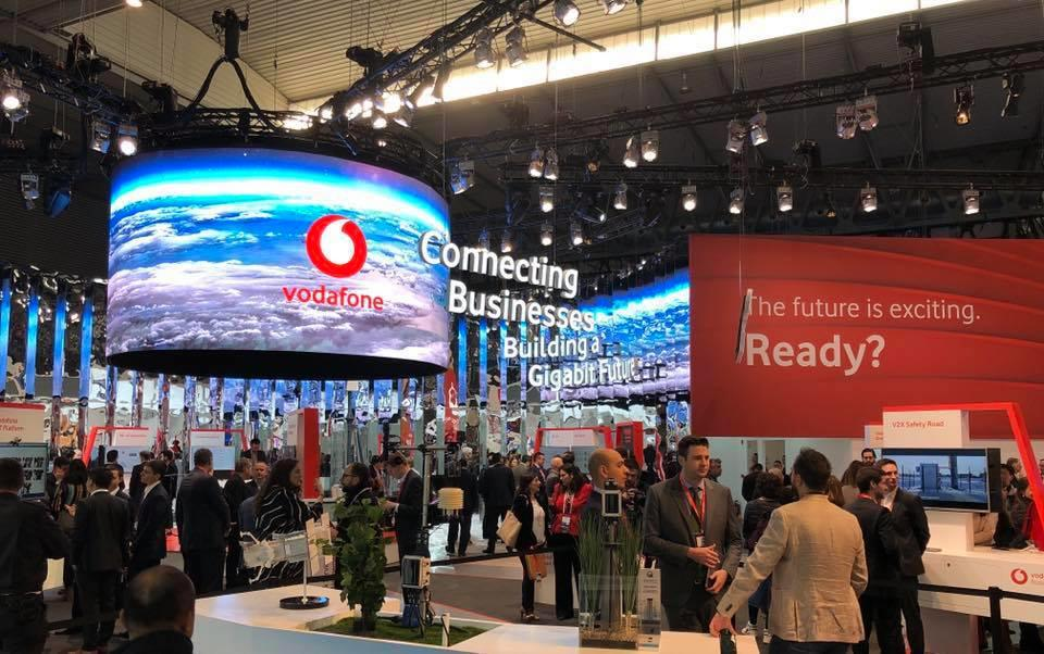 Vodafone auf dem MWC 2019