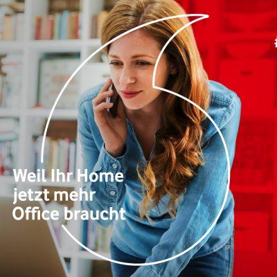 Kampagnenbild von Vodafone