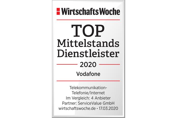Top Mittelstands Dienstleister 2020