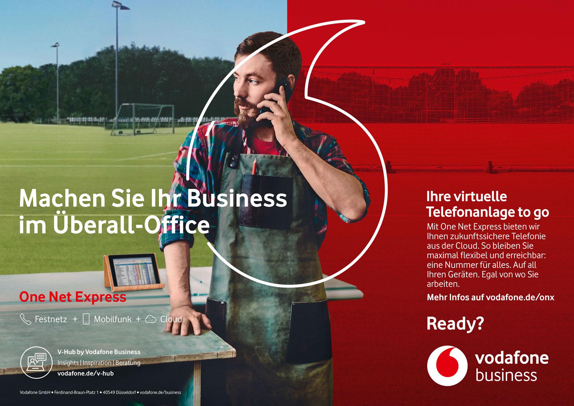 Banner zur One Net Express Kampagne