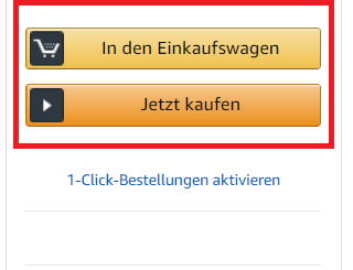 Die Amazon Buy Box: So funktioniert sie
