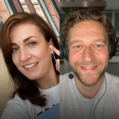 Headergrafik mit Magdalena Rogl und Christoph Burseg