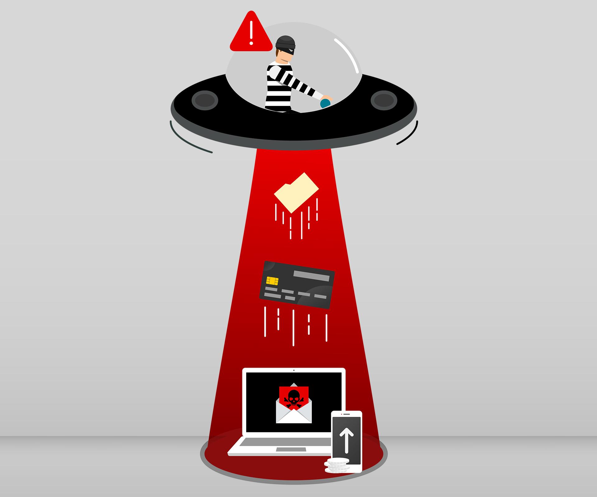 Spyware Illustration