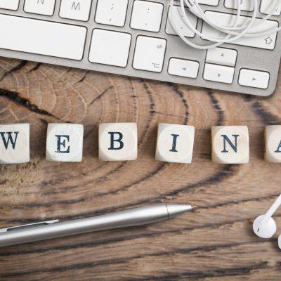 Alternative zu Schulungen und Präsentationen mit Präsenzpflicht: Webinare.