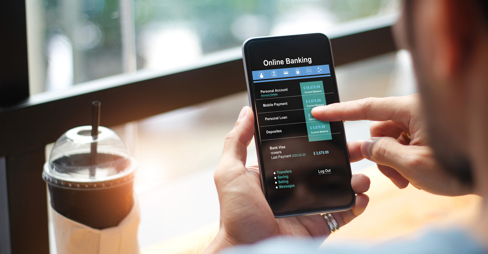 Online-Banking per Smartphone