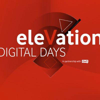 Das Logo der Vodafone eleVation DIGITAL DAYS