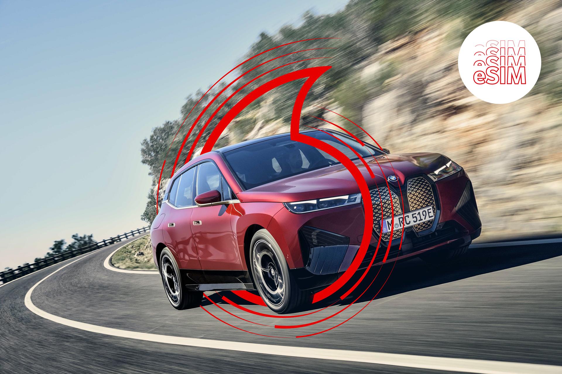 BMW-Fahrzeugstudie mit eSIM
